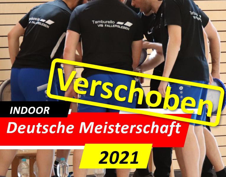 Indoor Meisterschaft 2021 verschoben